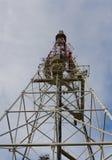 Башня телевидения, взгляд снизу Стоковое Изображение RF