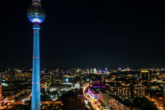 Башня телевидения в Берлине, Стоковые Фото
