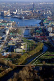 Башня телевидения в Екатеринбурге Стоковая Фотография