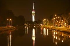 Башня телевидения идет Стоковая Фотография RF