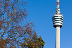 Башня телевидения Стоковая Фотография