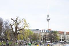 башня телевидения berlin Стоковое Изображение RF