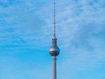 Башня телевидения Fernsehturm, Берлин, Германия Стоковые Изображения