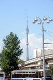 башня телевидения ostankino moscow стоковые изображения