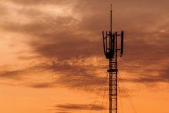 Башня телекоммуникаций Стоковые Изображения RF