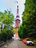 Башня токио на токио Японии Стоковая Фотография