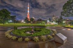 Башня Токио, Токио, Япония Стоковые Изображения RF