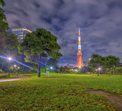 Башня токио, токио Стоковое Изображение