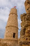 башня Тунис ribat monastir Стоковое Фото