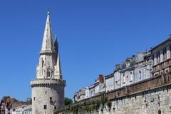 Башня фонарика - La Rochelle - Франция стоковые фотографии rf