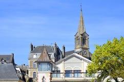 башня Франции церков колокола pornic Стоковая Фотография RF