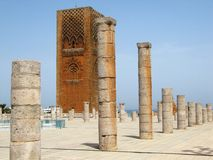 Башня Хасана Рабата Стоковое Изображение RF