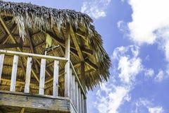 Башня хаты Tiki Стоковые Изображения RF