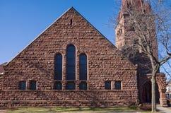 Башня церковного колокола ориентира и фасад в St Paul стоковые изображения