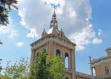 Башня церков в лишайнике, Польше Стоковое фото RF