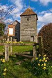 башня церков деревянная Стоковые Изображения