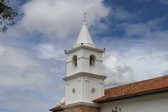 Башня церков колониального начала Стоковая Фотография