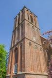 Башня церков Николаса в Elburg стоковая фотография
