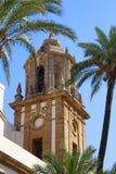 Башня церков Сантьяго Стоковые Изображения