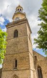Башня церков St Nicolai в Rinteln Стоковые Фото