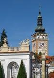 Башня церков St Wenceslas стоковое изображение rf