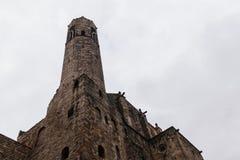 Башня часовни Санта Agata стоковое изображение rf