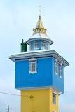 Башня - часовня бело-желтого цвета Стоковая Фотография RF