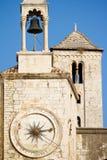 Башня часов в старом городке разделения, Хорватии Стоковые Фотографии RF
