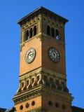 Башня часов здания правительства Стоковые Изображения