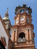 башня часов собора Стоковая Фотография