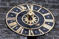 башня часов старая Стоковые Фотографии RF
