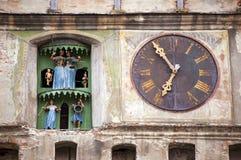 башня часов старая Стоковое фото RF