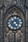 башня часов старая Стоковое Изображение