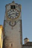 башня часов церков старая стоковое изображение