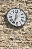 башня часов церков Стоковое Изображение
