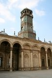 башня часов цитадели Каира Стоковые Фото