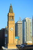 башня часов brisbane Стоковое Изображение