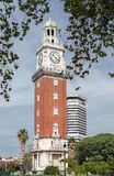 Башня часов Buenos Aires англичанин стоковое фото rf