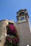 башня часов capri Стоковая Фотография RF