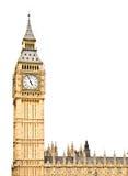 башня часов westminster Стоковое Изображение