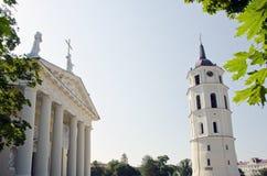башня части собора колокола вероисповедная Стоковые Фото