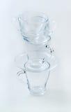 башня чашки стеклянная s Стоковые Изображения