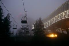 Башня лыжного трамплина Holmenkollen стоковая фотография rf