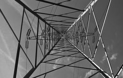 Башня электричества Стоковое Изображение