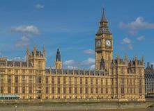 Башня Элизабета, крупный план большого Бен Стоковое фото RF