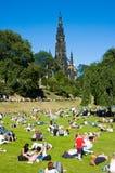 Башня Эдинбурга Скотта стоковая фотография rf