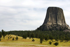башня дьяволов Стоковые Фотографии RF