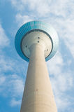 Башня Дюссельдорфа Рейна Стоковое Фото