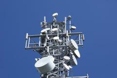 башня 3 радиосвязей Стоковые Изображения RF