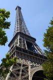 башня 5 eiffel paris Стоковые Фотографии RF